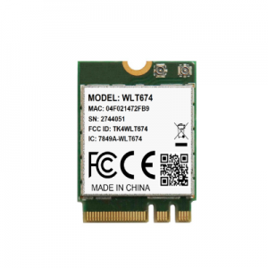 WLT674 with CE/FCC/IC Certified